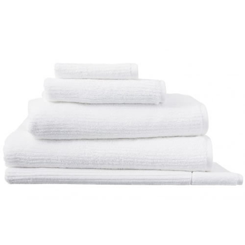 Living Textures White Hand Towel
