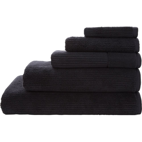 Living Textures Carbon Queen Towel