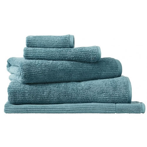 Living Textures Teal Queen Towel