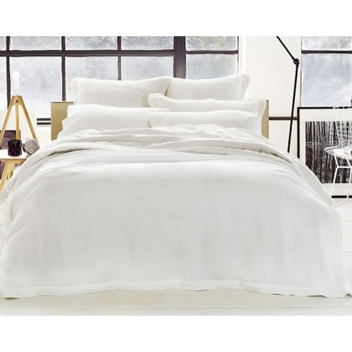 Abbotson King Tailored Quilt Cover in White