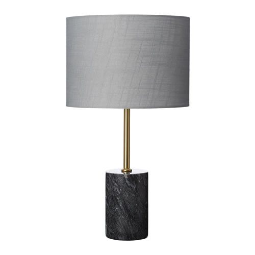 Sadie Table Lamp Grey