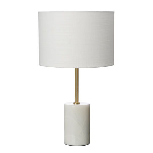 Sadie Table Lamp White