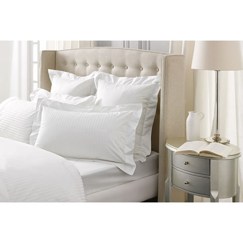 Millennia Tailored Pillowcase in Snow