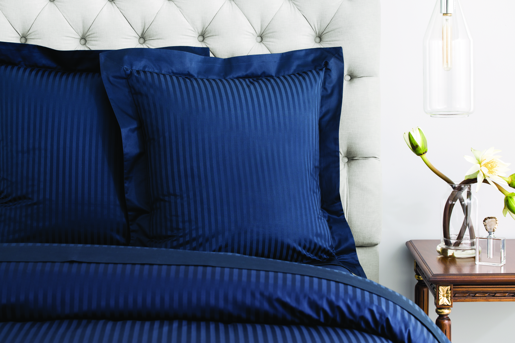 Millennia Tailored European Pillowcase - Single in Midnight