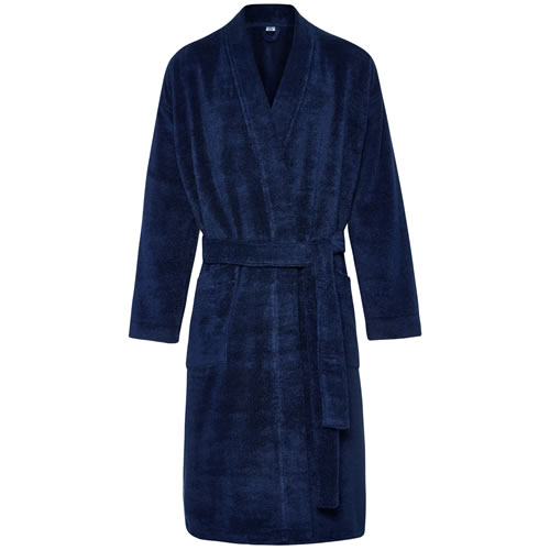 Quick Dry Luxury Midnight Towelling Robe Lrg XLrg