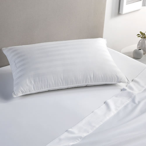 Deluxe Feather and Down Surround Standard Pillow Medium