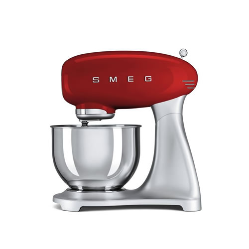 Direct Drive 800 Watt with High Torque Stand Mixer Red