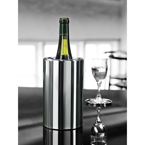 Wine Cooler 20cm in Stainless Steel