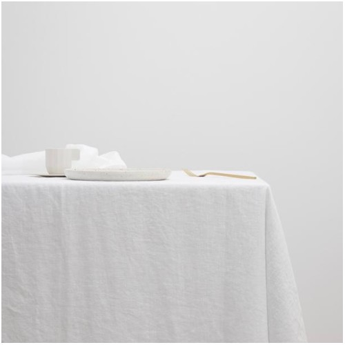 Small Table Cloth in White