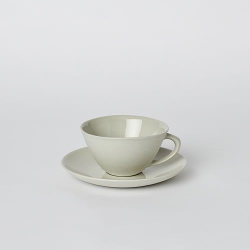 Tea Cup and Saucer in Dust