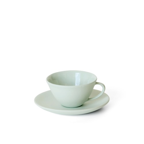 Tea Cup and Saucer in Mist