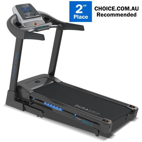 Boost-R Treadmill Black