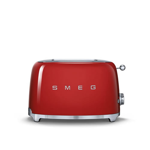 50's Style 2 Slice Toaster Red