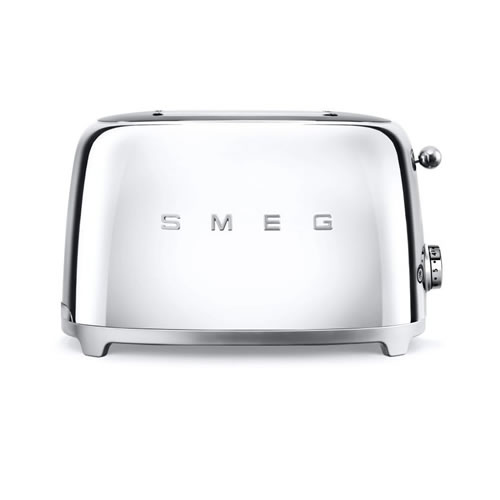 50's Style 2 Slice Toaster Stainless Steel