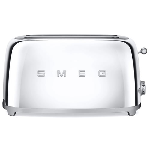 Smeg 50s Style 4 Slice Toaster in Silver