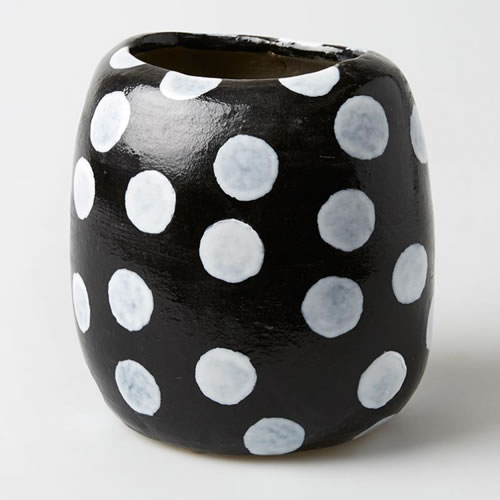 Polka Dot Medium Vase