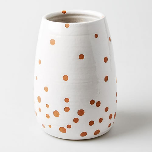 Loose Dot Medium Vase