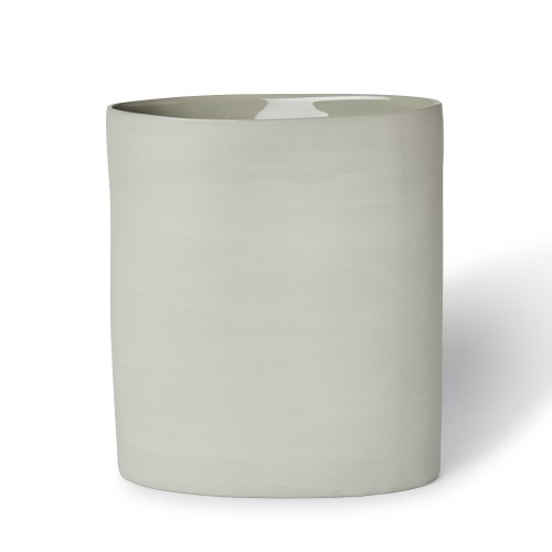 Vase Oval Large in Ash
