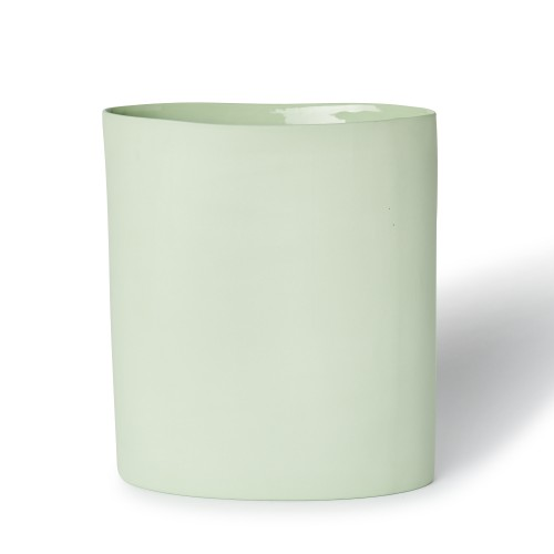 Vase Oval Large in Pistachio