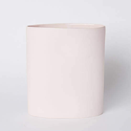 Vase Oval Large in Pink
