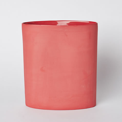 Vase Oval Large in Red