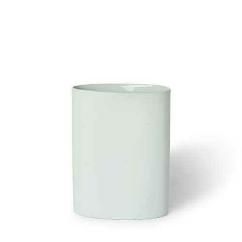 Vase Oval Medium in Mist