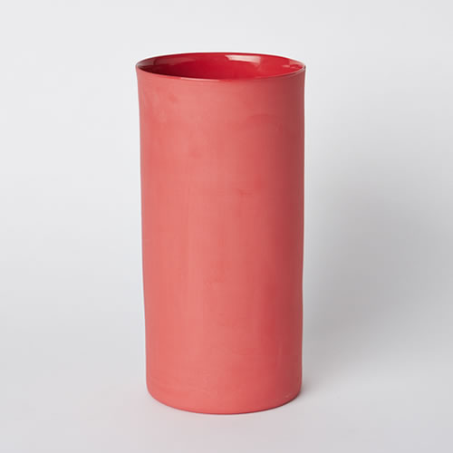 Large Vase in Red