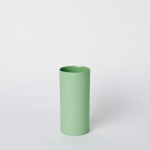 Small Vase in Wasabi