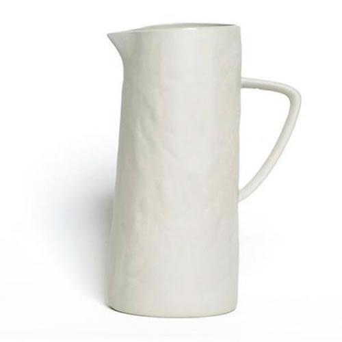 Flax Jug with Handle in Grey