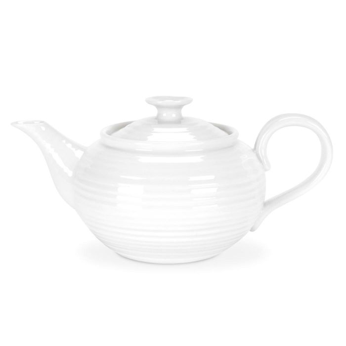 White Small Teapot