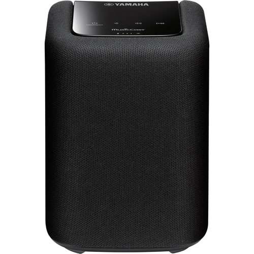 Yamaha MusicCast Wireless Mini Speaker with Wi-Fi and Bluetooth Black