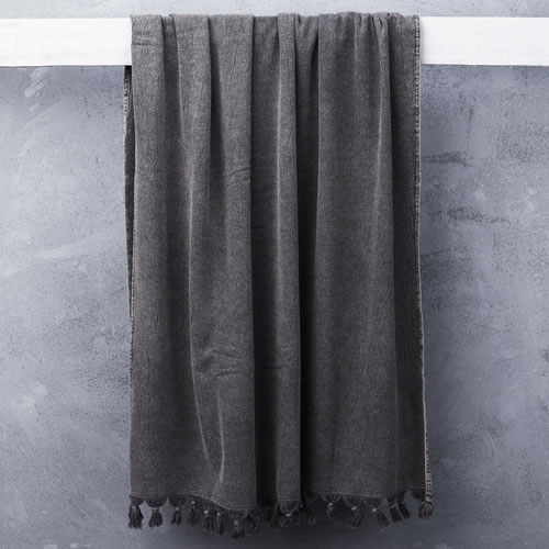 Wash Towel in Charcoal