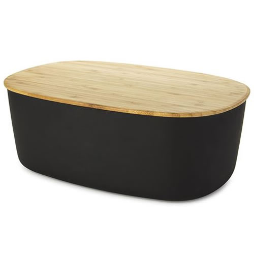 Bread Box in Black
