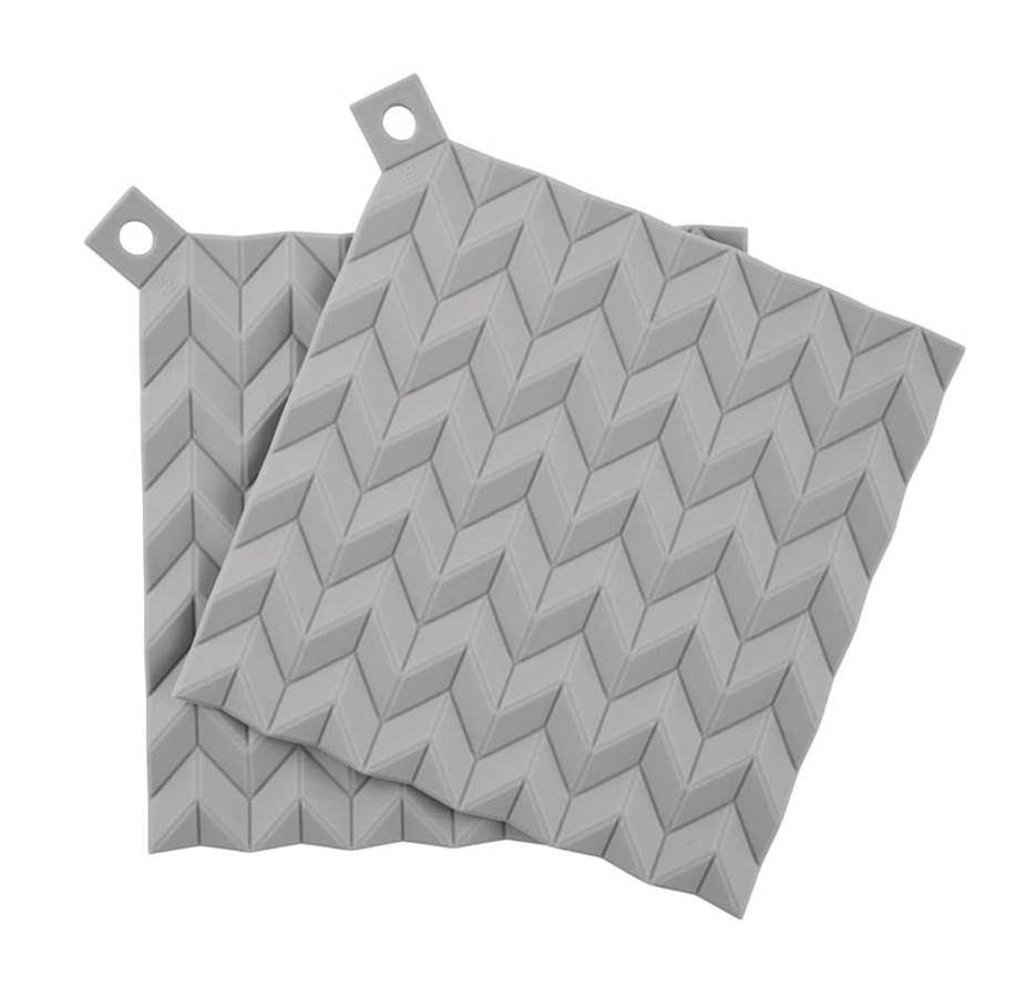 Grey Hold-On Pot Holders