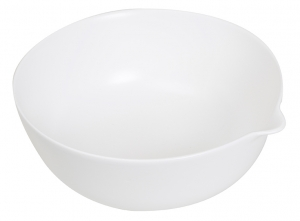 Maya Large Bowl with Lip in White