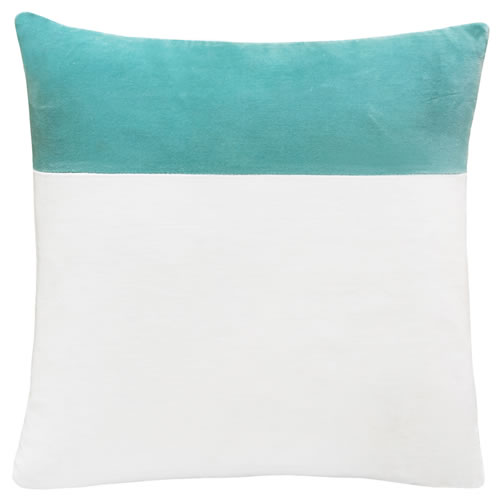 Blue Swatch Velvet Cushion