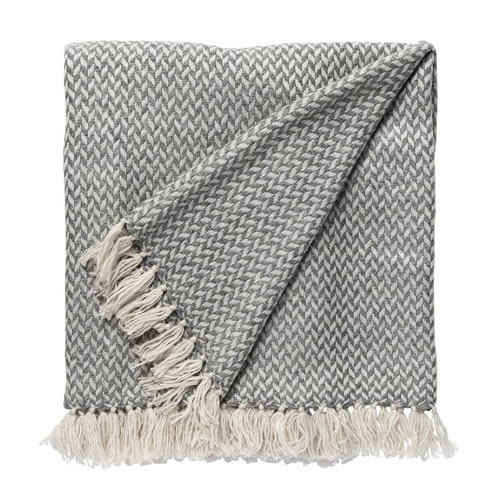 Copenhagen Cashmere Throw in Smoke