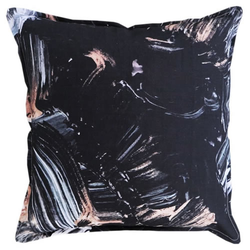 Guilded Linen Cushion 50x50cm