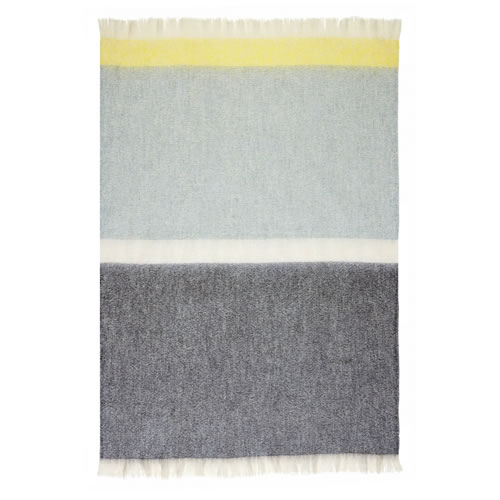 Mohair Throw Rug in Icelandic