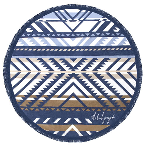 The Lorne Round Towel