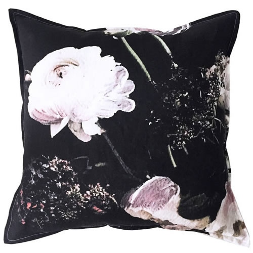 Midnight Linen Cushion 60x60cm