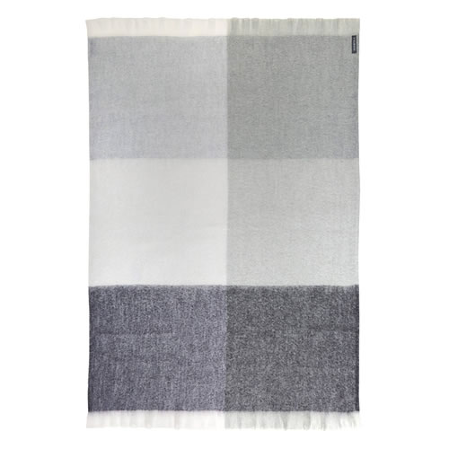Mohair Ghost Throw Rug