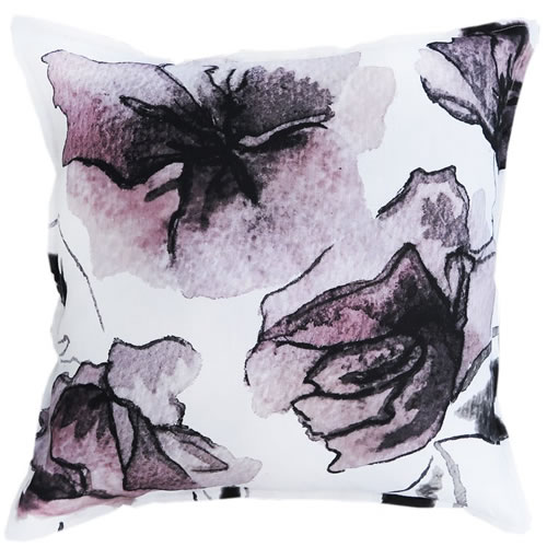 Rose One Linen Cushion 50x50cm