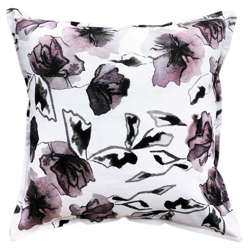 Rose Two Linen Cushion 50x50cm