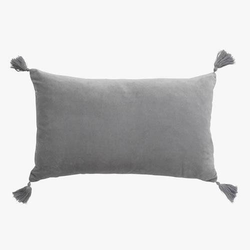 Velvet Petite Smoke Cushion