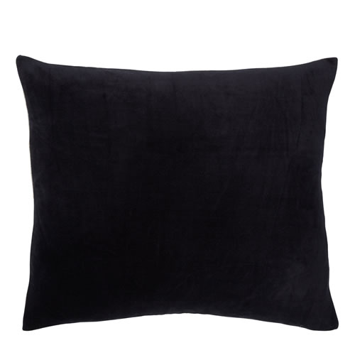 Velvet Midi Black Cushion