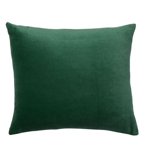 Velvet Midi Emerald Cushion